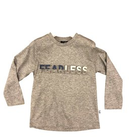 Il Gufo t-shirt lm fearless grijs