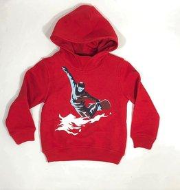 Il Gufo sweater kap snowboard rood