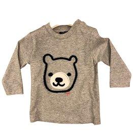 Il Gufo t-shirt grijs beer