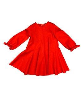 Il Gufo jurk rood