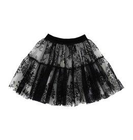 Monnalisa rok kant zwart