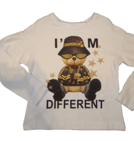 Elsy t-shirt wit i'm different