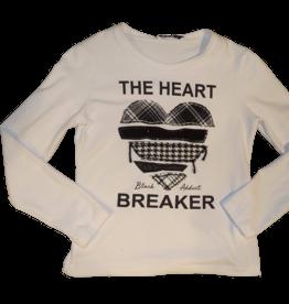Elsy t-shirt wit heart braker