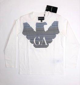 Armani T-shirt lm  wit GA