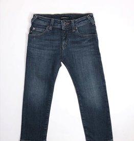 Armani jeans broek blauw basis