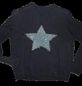 Liu Jo trui blauw met ster