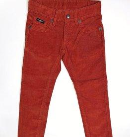 Hackett broek rib roest kleur
