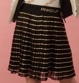 Pinko rok zwart goud