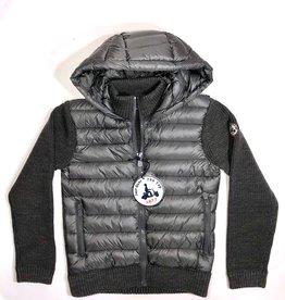 Jott jas en trui  donsvoering grijs