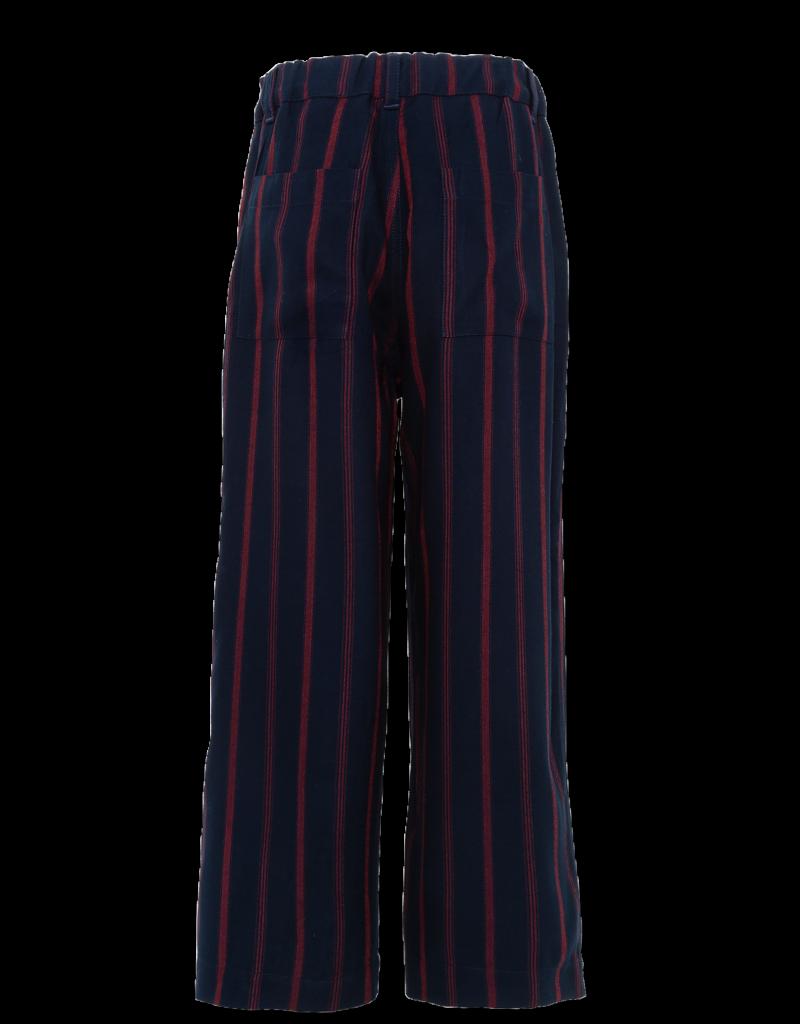 Ao76 broek streep blauw rood