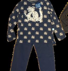 Charlie Choe pyjama desssin en uni blauwe broek