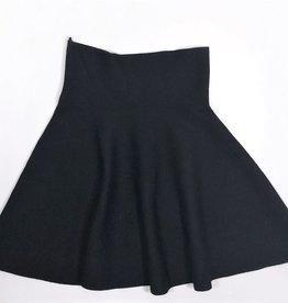 VO rok jersey zwart one size
