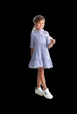 RTB jurk streep blauw wit stroken