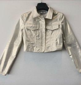 RTB goudkleurige blazer jasje met kraag