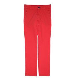 Gymp broek rood chino beaufort