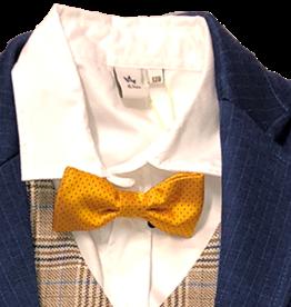 Dlux hemd wit linnen