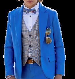 Dlux blazer indigo cobalt stretch