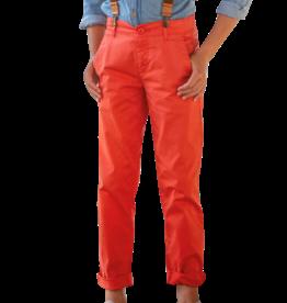 Dlux broek lang rood