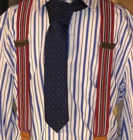 Dlux bretel streep rood blauw