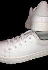 Red Limit/Hoops sneaker uni wit