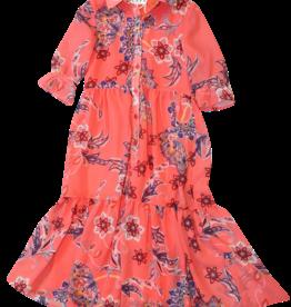 Scapa jurk lang coraille print