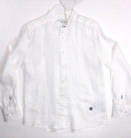 Scapa hemd wit linnen