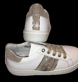 RTB/Hoops sneaker wit goud strass