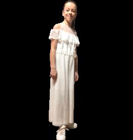 Linea Raffaelli jumpsuit met kant boven