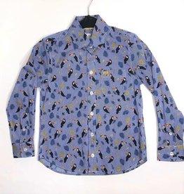 Blue Bay hemd Coen kaketoe