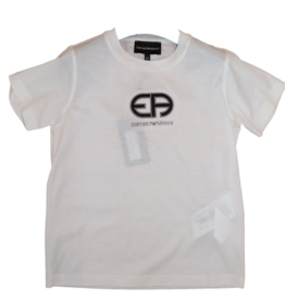 Armani T-shirt logo off white