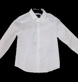 Armani hemd wit katoen