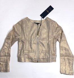 Noali blazer linnen goud