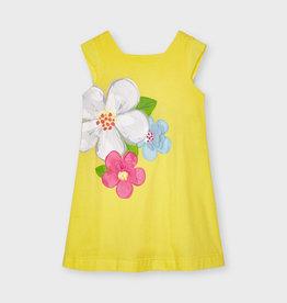 Mayoral zonne jurk geel bloemen