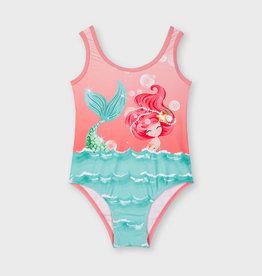 Mayoral badpak roze aqua meisje