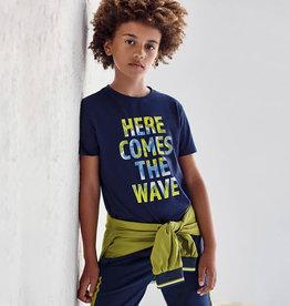 Mayoral donkerblauw t-shirt wave