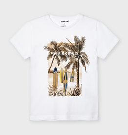 Mayoral T-shirt palmbomen surfplanken