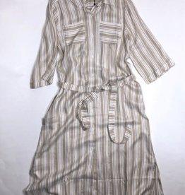 Noali jurk hemdjurk lang beige
