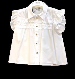 Liu Jo blouse katoen wit