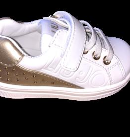 Liu Jo sneaker wit goud alicia mini