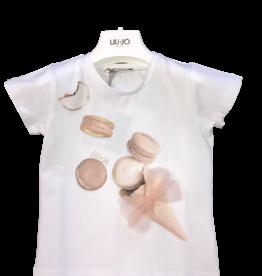 Liu Jo T-shirt wit macaron