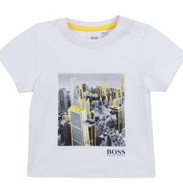 Hugo Boss T-shirt wolkenkrabbers