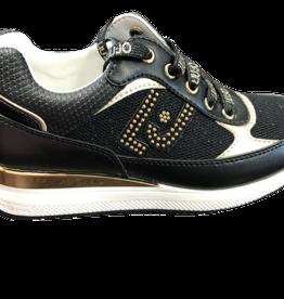 Liu Jo sneaker zwart goud conny