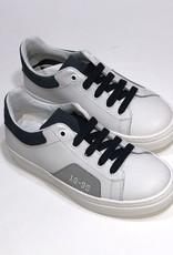 Red Limit/Hoops sneaker wit met accent blauw/grijs