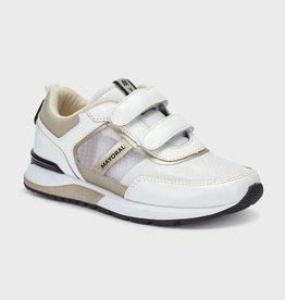 Mayoral sneaker velcro wit zand