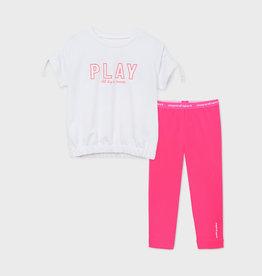 Mayoral T-shirt met legging set play