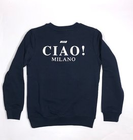 MSGM sweater navy ciao milano