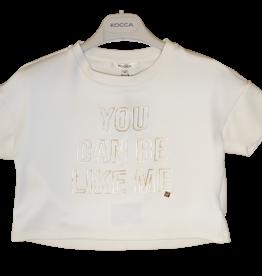 Kocca T-shirt Brinda ecru