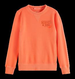 Scotch&Soda sweater koraal oranje