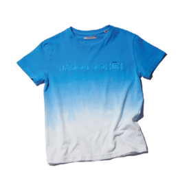 Jacob Cohen T-shirt cobalt wit logo
