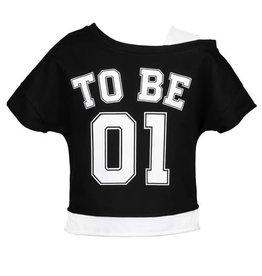 Elsy T-shirt to be nᄚ1 zwart